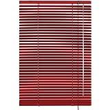 Gardinia 10007313 - Persiana (aluminio, láminas de 25mm de grosor, 40x175 cm), color rojo