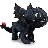 """HTTYD Drachenzähmen leicht gemacht - Dragons - Plüsch Figur Kuscheltier Drachen Ohnezahn Toothless 11""""/30cm - 76001661-1"""