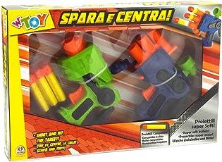 W'TOY 37566 Pistola Soft con 6 Proiettili, 2 Pezzi