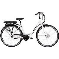 F.lli Schiano Women's E-Moon E-Bike, Weiss, 49cm
