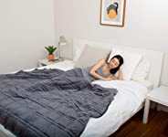 Cooling Weighted BlanketPerfect for Summer - | Chilled Bamboo | Eco-Friendly and Sustainable Fabric | Enjoy Quality Sleep An
