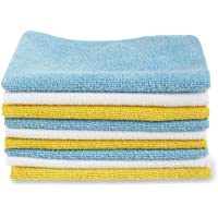 Amazon Basics Microfibre Cleaning Cloths Pack of 12