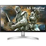 LG 27 inch 4K-UHD (3840 x 2160) HDR 10 Monitor (Gaming & Design) with IPS Panel, HDMI x 2, Display Port, AMD Freesync…