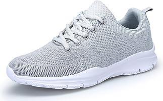 DAFENP Chaussures de Course Running Sport Compétition Trail entraînement Homme Femme Basket Sneakers Outdoor Running...