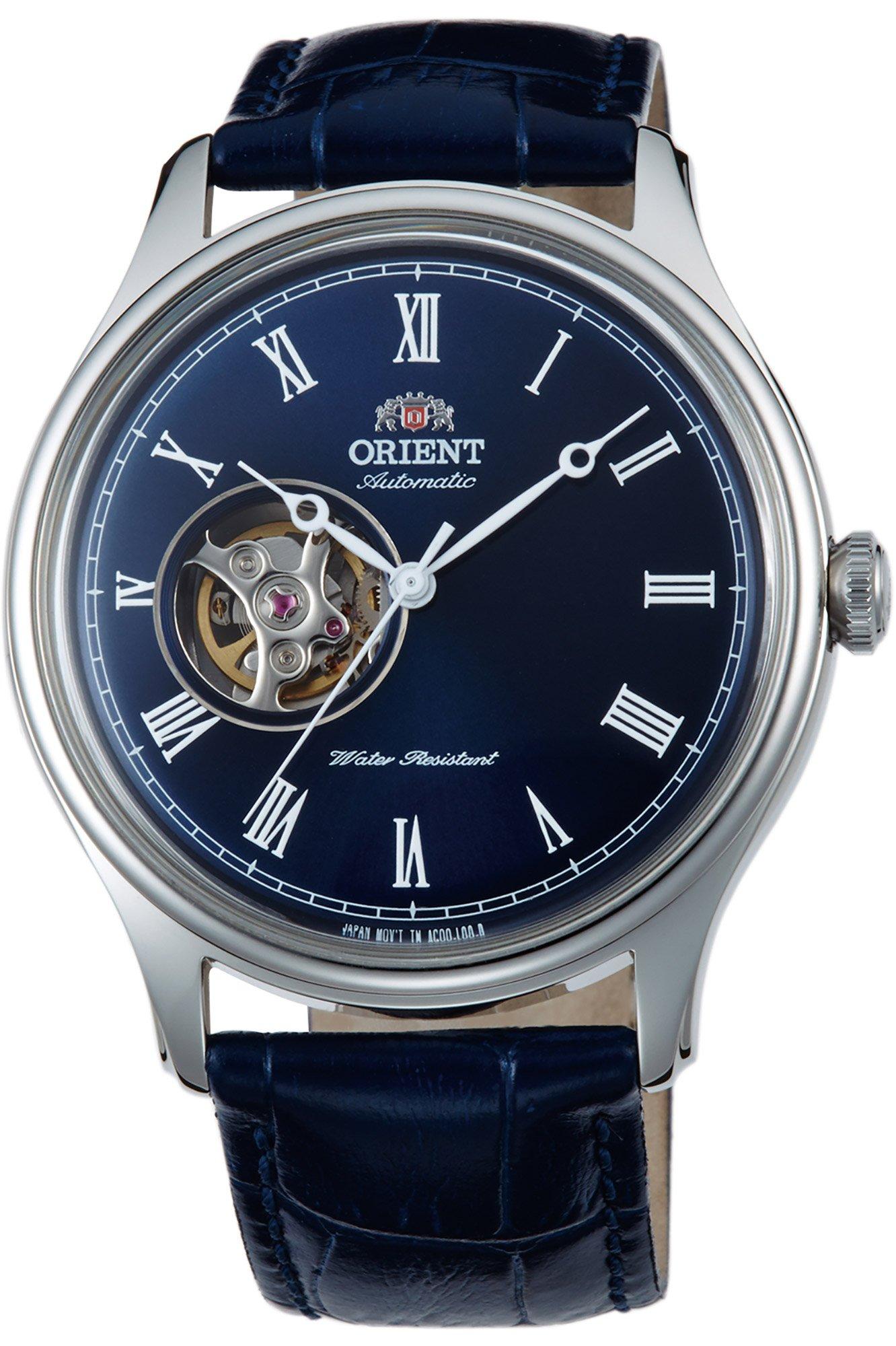 Orient Reloj Analógico para Hombre de Automático con Correa en Cuero FAG00004D0