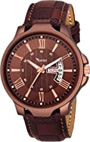 Foxter Analog Brown Dial Men's Watch-FXT12457