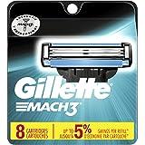 Gillette Mach3 Men's Razor Blades - 8 Refills