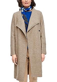 s.Oliver RED Label Damen Wintermantel mit Fake Fur