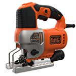 Black+Decker 650W Pendulum Jig Saw - BES610-GB