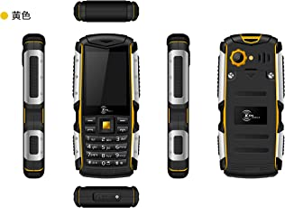 KEN MOBILE W3 Pro 32MB ROM, RAM, Battery 2000mAh Mobile (Black and Yellow)