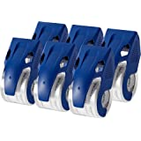 Amazon Basics Heavy Duty Packaging Tape with Dispenser for Shipping, Moving and Storing, 4.5 cm x 20.2 m, 6-pack