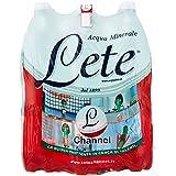 Lete Acqua Minerale Effervescente Naturale, 6 x 1.5L