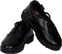 Yoswank Derby School Black Shoes for Boy Size