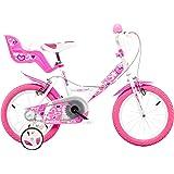 Dino Bikes - 144 RN - Vélo pour Fille 14 de 5 à 7 Ans