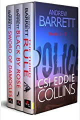 The CSI Eddie Collins Thrillers - Books 1 - 3: Thrillers written by a CSI Kindle Edition