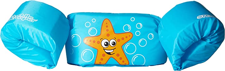 Coleman Company Stearns Puddle Jumper Basic Starfish Personal Floatation Device, Blue/Orange by Coleman