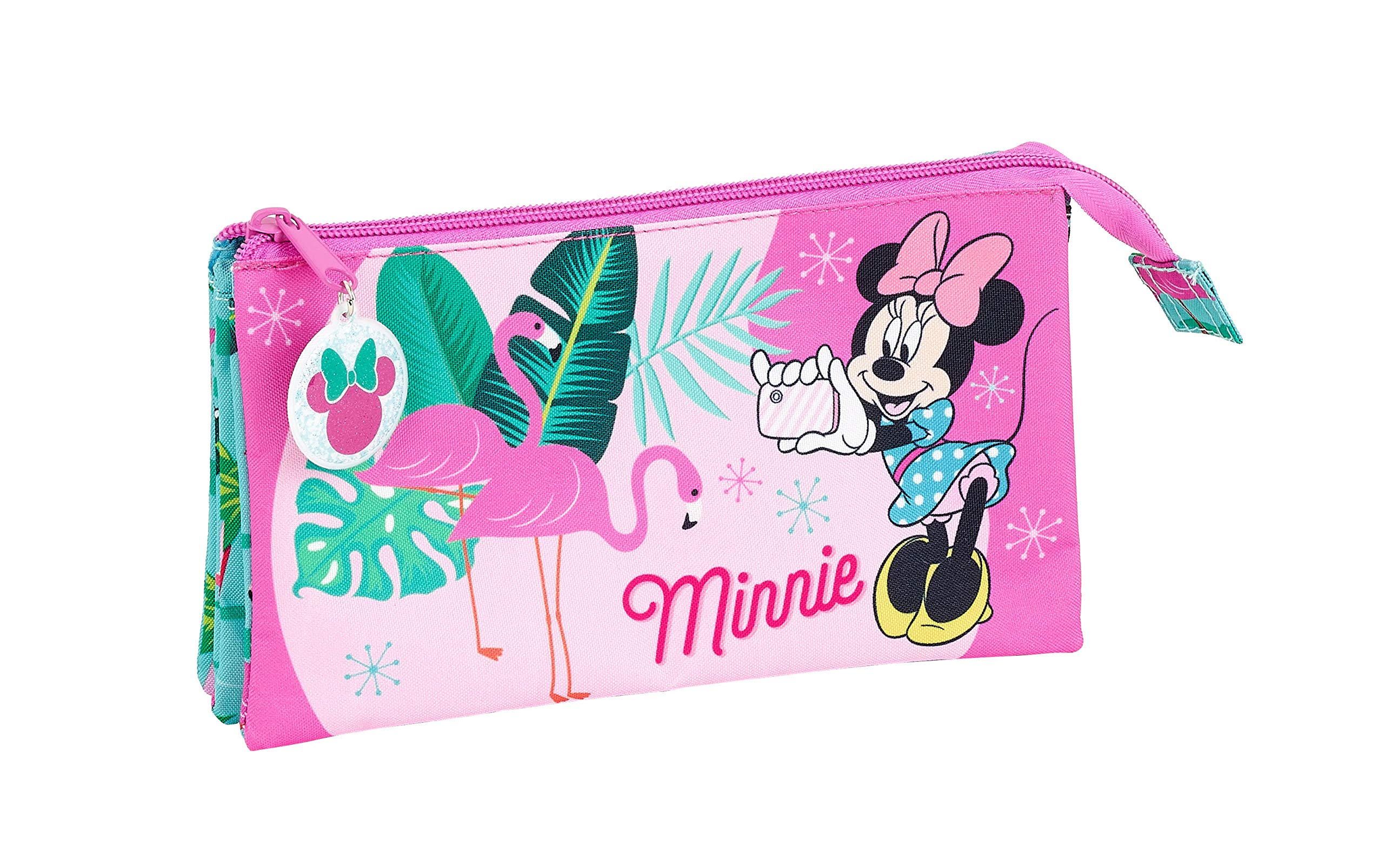 Minnie Mouse «Palms» Oficial Estuche Escolar 220x30x100mm