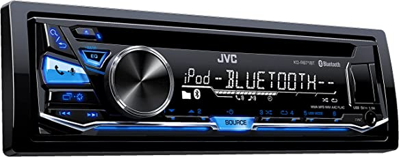 JVC KD-R871BT Autoradio USB/CD-Receiver mit Bluetooth inkl. A2DP schwarz