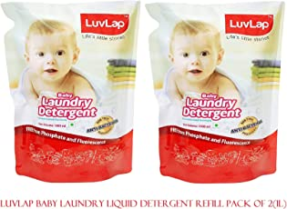 Luvlap Liquid Detergent Refill Pack 1000ML Combo : Pack of 2
