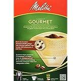 Melitta 6659462 80 filter för kaffebryggare, brun, paket med 4 x 80 stycken