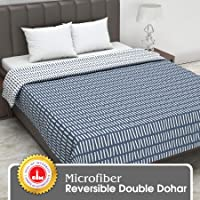 Divine Casa 110 TC Polyester All Weather Dohar (Double _Blue)