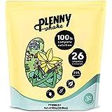 Jimmy Joy Vainilla Plenny Shake, 5 Bolsas x 4.000 kcal, Sustituto de Comida, Nutrición Completa 26 Vitaminas y Minerales, 20g