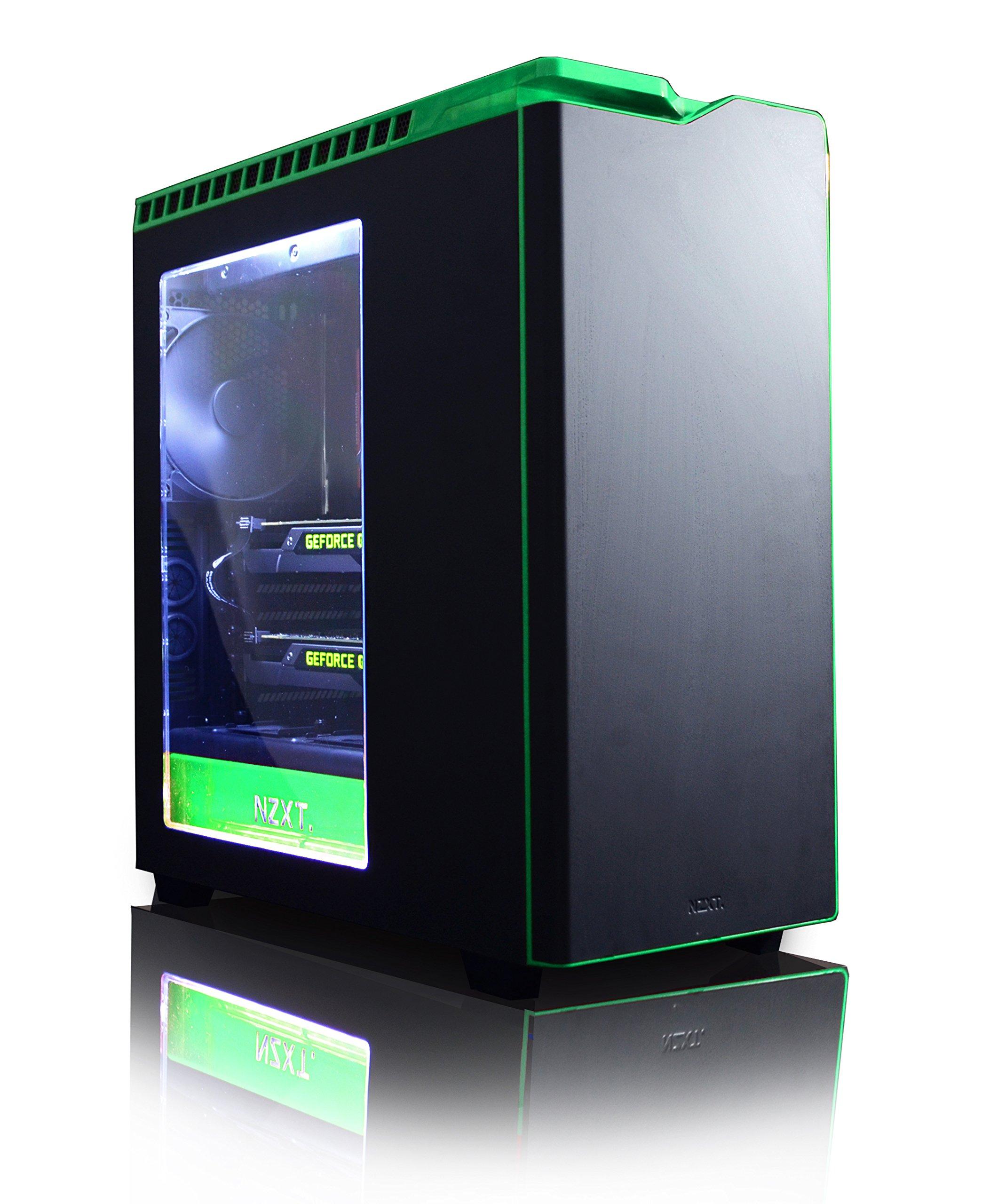 VIBOX Legend 32 Gaming PC Computer mit Spiel Bundle, Windows 10 OS, 27 Zoll HD Monitor (4,5GHz Intel i9 10-Core, 2x Dual…