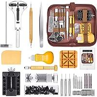 STARTOGOO 149 Pezzi Tool Kit di Riparazione orologi Professionale Strumenti Portable Set Orologiaio Attrezzi di Apertura…
