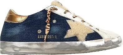 Golden Goose Scarpe Donna Sneaker Hi Star Vintage GWF00101.F000208.80232 Blu