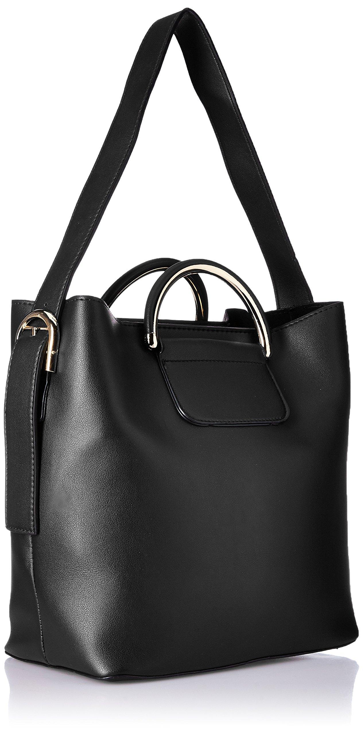 c1573e19f6 Alessia74 Women s Handbag (Black) () - lali mix india