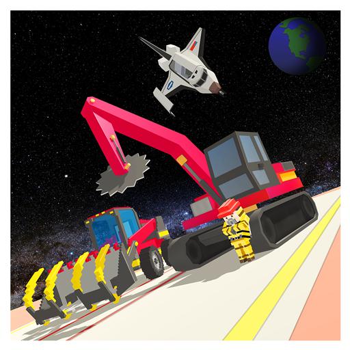 Voraus Bau der Raumstation: Galaxy Builder