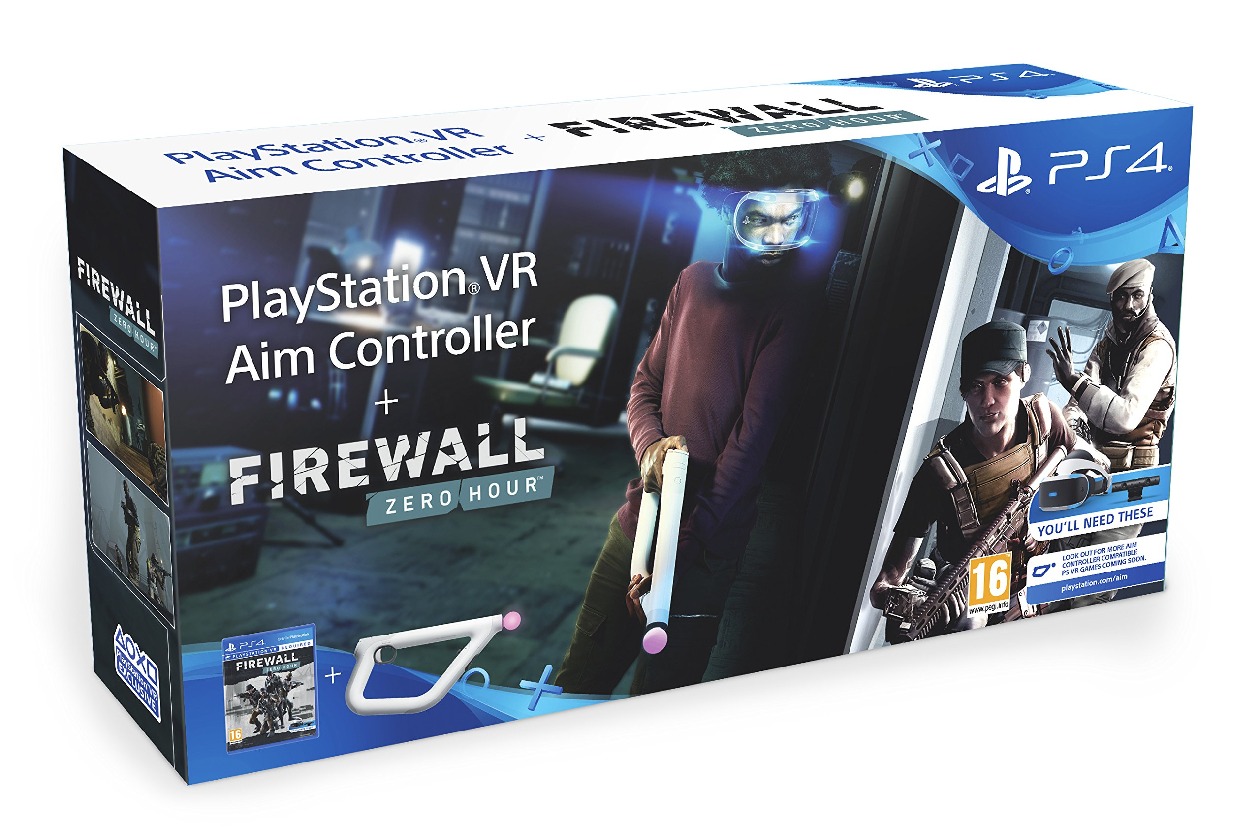 Firewall Zero Hour and Aim Controller (PS4) (New)