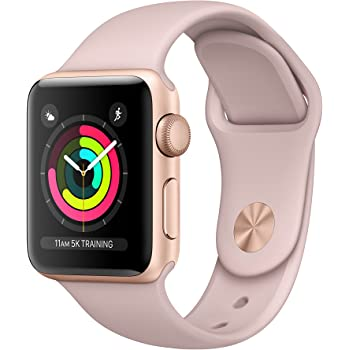 Apple Watch Series 3 38 mm Gold pink