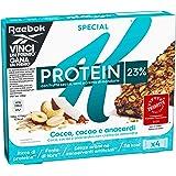 Kellogg's Special K Barrette Protein Frutta Secca, Semi e Crema di Mandorle, 4 x 28g
