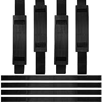 12 Stück Verstellbare Hoverboard Gurte und Riemenschutz Hoverboard mit Klettverschluss Ersatzgurte für Kart Zubehör Self…