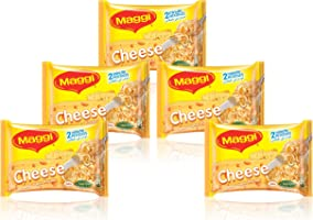 Maggi 2  Minutes Noodles - Cheese, 5 x 77g