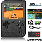 DigitCont Console de Jeu Portable, Retro FC Console de Jeux, avec 500 Classique Jeux FC, 3 Pouces écran Couleur, 1020mAh…