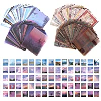 FSFTTRAD 800 Pcs Stickers Set Vintage Journal Diary Stickers Decorative Scrapbooking Material Paper Washi Paper for…