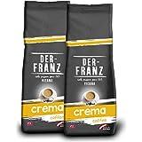 Der Franz, caffè Crema UTZ, macinato, 2 x 500 g