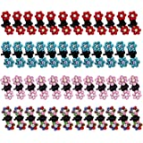 Mini Horquilla Flor de Metal Mini Clips de Pelo Garra de Pelo Pinzas para el Cabello Garra de Pelo Color Sombreros Accesorios