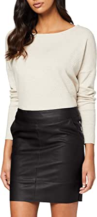 Only Onlbase Faux Leather Skirt Otw Noos Gonna Donna