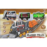 Barodian's Best Classic Train Play Set with Tracks 11 peices playset