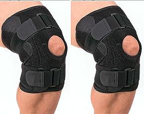 Knee Caps - Noova Adjustable Knee Support, Free Size (2 Pieces)
