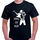 Camiseta Michael Jackson King of Pop