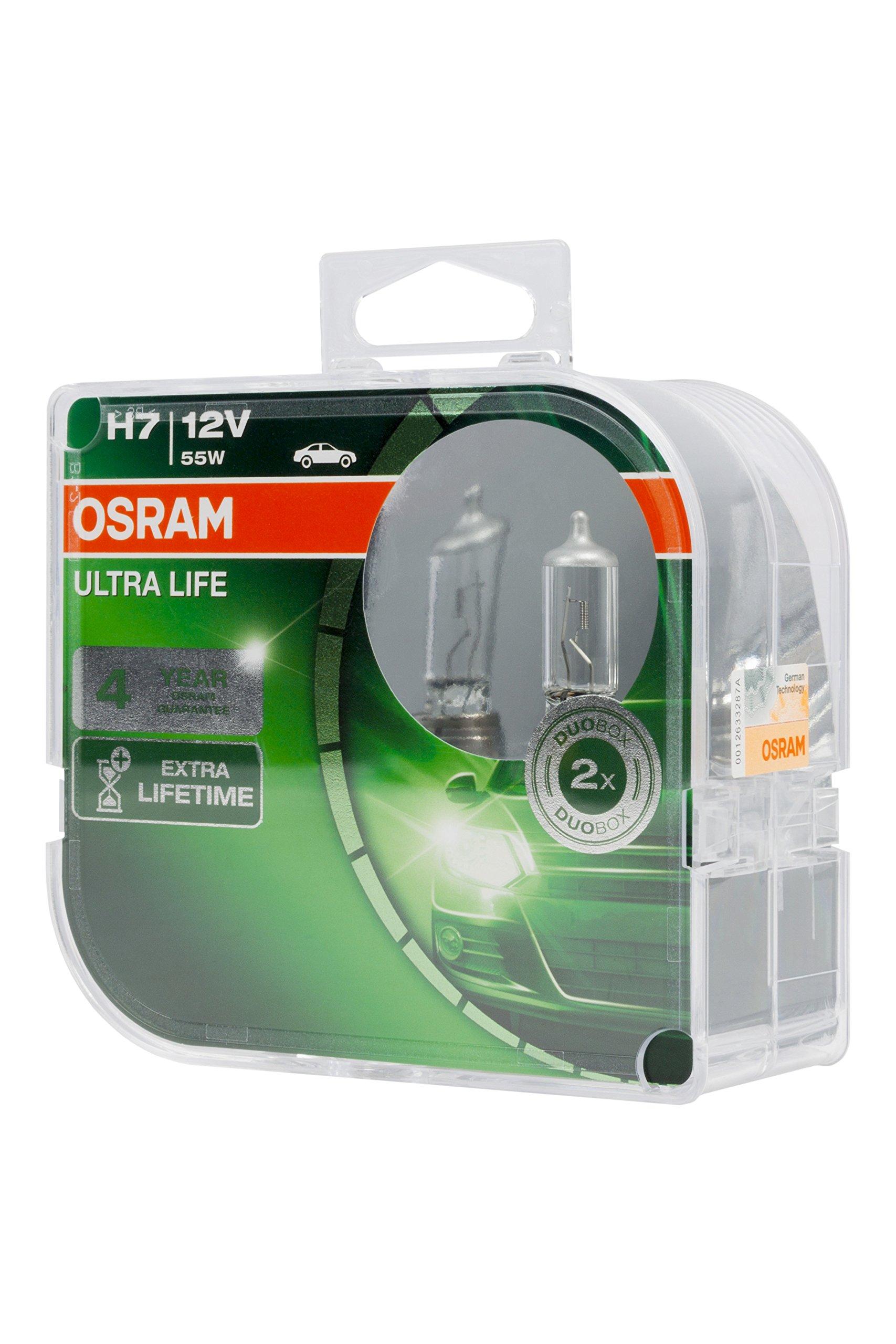 2x Opel Corsa C Genuine Osram Ultra Life High Main Beam Headlight Bulbs Pair