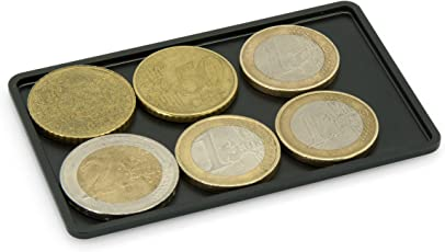 SLIMPURO ® Coin Case/Coin Card - Universales Münzfach, Kleingeldfach aus Aluminium für Geldbörsen, Slim Wallets, Kreditkartenetuis, Kartenetuis, Geldbeutel - Blockt RFID Signale
