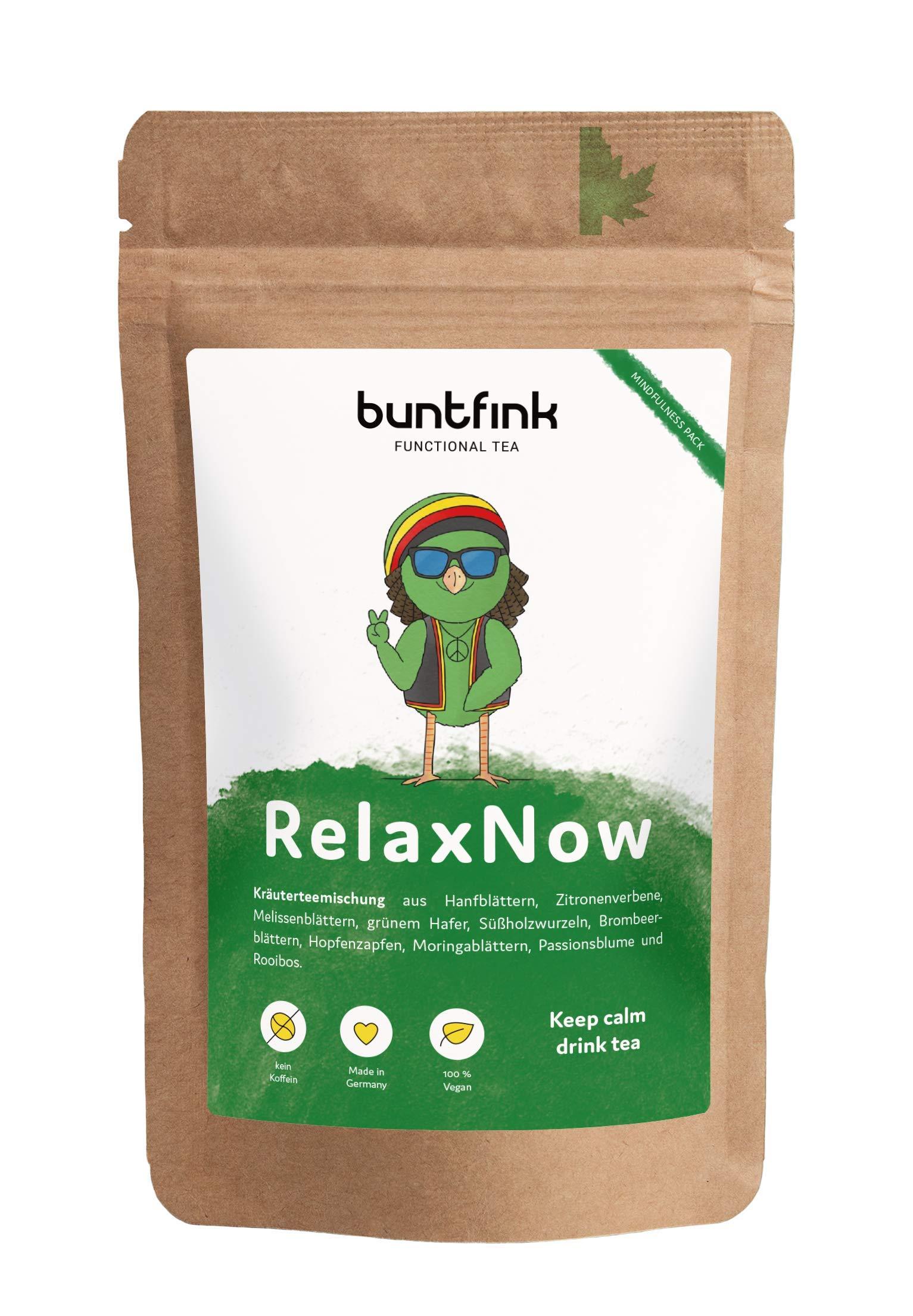 RelaxNow-Tee-mit-Moringa-Passionsblume-Melissenbltter-Rooibos-100-natrlicher-Krutertee-aus-Deutschland-60g-loser-Tee