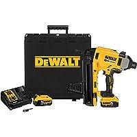DEWALT DCN890P2-QW Chiodatrice per calcestruzzo senza spazzole XR 18V Li-Ion 5Ah, Nero/Giallo