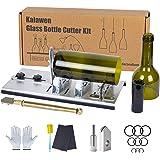 Kalawen Flessensnijder, 5 verstelbare wielen, glassnijder voor flessen, roestvrij staal, bottle cutter, doe-het-zelfgereedsch