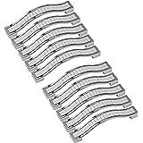 Kyrio 10 Pack Moderne Strass Kristallen Kast Handvat Grind Arenaceous Lade Trekt Dressoir Knop Trek Handvat voor Meubeldeur K